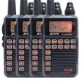 Комплект из четырех Раций Puxing PX-2R VHF