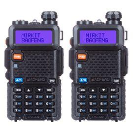 Комплект из 2-х раций Baofeng UV-5R 8W, Батарея Li-ion 1800 мАч UHF/VHF