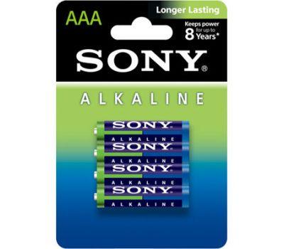 Батарейки Sony LR03 (AAA) Alkiline 4 шт., фото 1