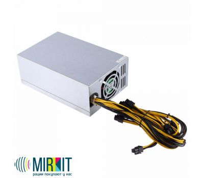 Блок питания Mirkit FREEMiner 1800W 80PLUS GOLD ASIC, фото 2