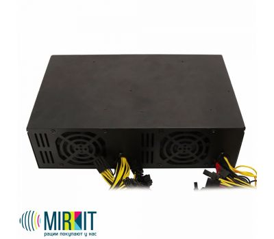 Блок питания Mirkit CryptoPOWER 3300W 80PLUS PLATINUM, фото 5