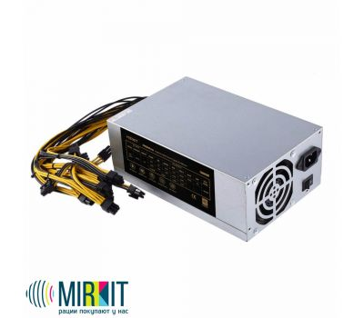 Блок питания Mirkit FREEMiner 1800W 80PLUS GOLD ASIC, фото 1