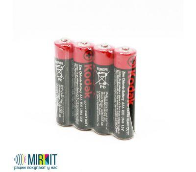 Батарейки KODAK EXTRA HEAVY DUTY R3 упаковка по 4 шт (цена за упаковку), фото 1