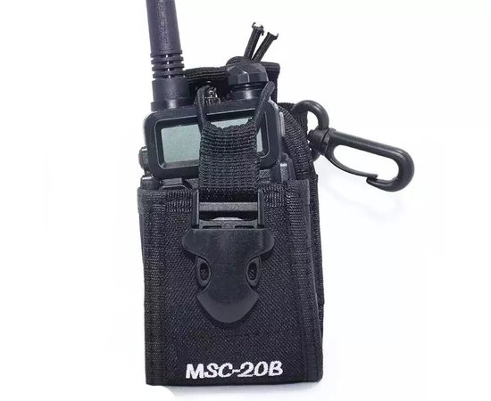 Чехол для рации Mirkit MSC-20B, Цвет: Черный