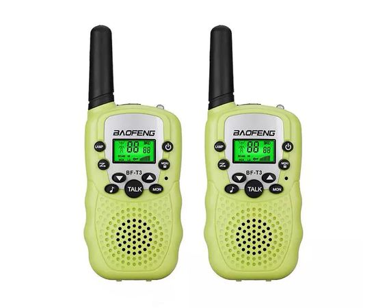 Комплект из двух раций Baofeng BF-T3 UHF green