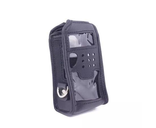 Чехол мягкий из кожзама для рации Baofeng UV-5R черный