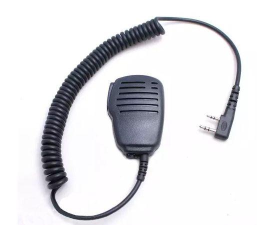 Тангента (ручной микрофон) LUITON K1010 Speaker Mic для раций Baofeng / Kenwood с разъемом 2-pin
