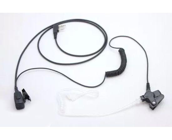 Гарнитура 2-х проводная LUITON K10303 Earpiece для раций Baofeng / Kenwood с разъемом 2-pin