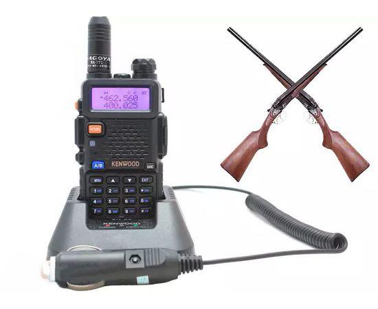 Комплект охотника. Радиостанция Kenwood TK-F8 DB + антенна Nagoya NA-771 + АЗУ