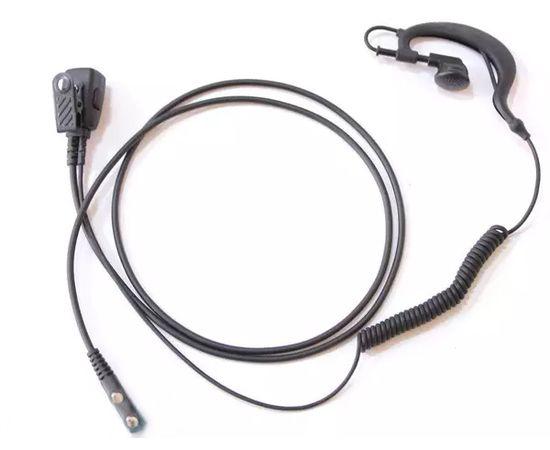 Гарнитура 2-х проводная LUITON K10305S Earpiece для раций Baofeng / Kenwood с разъемом 2-pin