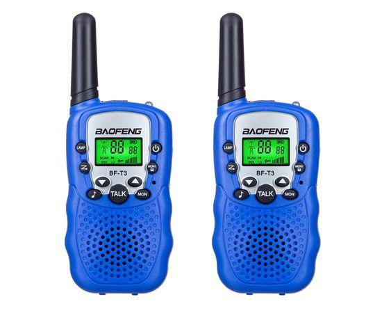 Комплект из двух раций Baofeng BF-T3 UHF  blue