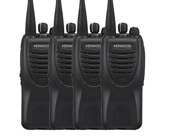 Комплект из четырех раций Kenwood TK-2260 VHF