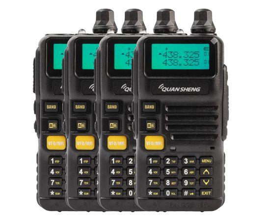 Комплект из четырех Раций Quansheng UV-R50