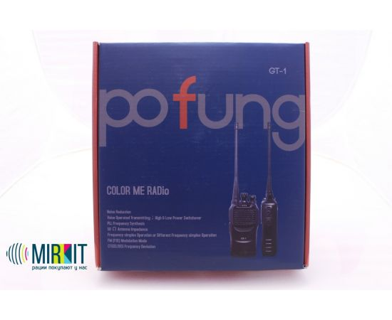 Рация Pofung GT-1 UHF Orange