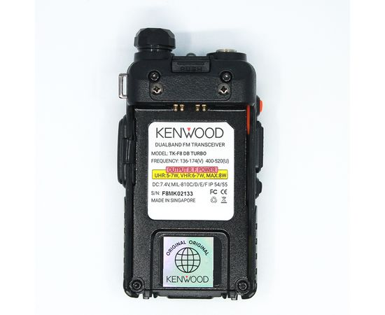 Рация Kenwood TK-F8 DB Turbo  (2100 мАч)